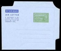Lot 21583:1952 HG #FG2 5c green on grey, dated 7AUG1952.