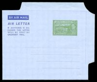 Lot 21584:1952 HG #FG2 5c green on grey, dated 7AUG1952.