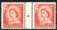 Lot 3307:1953-59 QEII Definitives SG #727