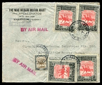 Lot 3939:1949 (May 4) use of 5m & 10m Legislative Assembly x4 on air cover to Melbourne.