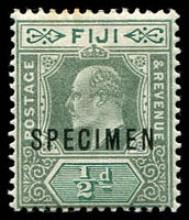 Lot 2822:1903 KEVII Wmk Crown/CA SG #104s