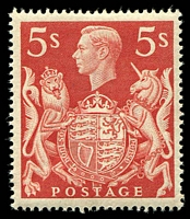 Lot 3512:1939-48 KGVI High Values SG #477