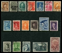 Lot 3542:1930 Independence Centenary SG #433-50