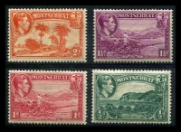 Lot 19816 [2 of 2]:1938-48 Pictorials SG #101-10 P13 complete set, ½d to 5/-, Cat £195. (10)
