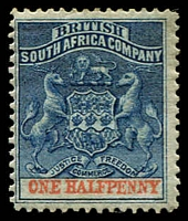 Lot 3871:1892-94 Bi-Colour Arms Perf 14,14½ SG #19