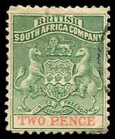 Lot 3872:1895 Bi-Colour Arms Thick Paper SG #27