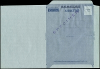 Lot 580:1952-59 'Postage/Paid' BW #AO1Bw