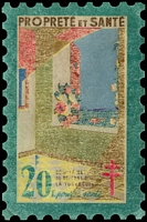 Lot 5:France 1946 Tuberculosis: 20fr large stamp, fair 