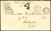 Lot 536:1902 Converted NSW Plates BW #D8