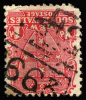 Lot 930:1663: '[1]663' BN on 1d Arms. [Rated SS]  Allocated to Cobham Lake-PO 16/6/1892; closed 7/11/1913.