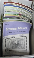 Lot 1051:Australia: Stamp News 1968, 2008-19, 31 various monthly issues. 7.35kg
