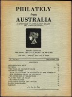 Lot 1053 [5 of 5]:Australia: Philately from Australia 1952-2019, 40 various issues and The Australian Philatelist, 1987-89, 9 various issues. 6.5kg (49)