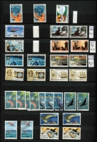 Lot 383 [4 of 9]:Accumulation in 4 stockbooks incl AAT, Christmas Island 1958 set in blocks of 4, 1968-70 Fish (2 sets), Cocos Island and Nauru, etc. (1,000s)