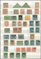 Lot 379 [3 of 3]:1857-1947 collection incl 1857 1d mint (thin), 1860 3d (2) faults, 4d used (faults), 5d mint, 1862-4 1d mint, 4d mint, 5d mint, 6½d mint, 1865 2c, 10c used, 13c mint, 24c, 1870 12c mint, 1868 values to 6c, 1880 values to 3c, 1887 values to 10c, 1897 values to 60c, 1897-1918 values to 5c, 1928-9 values to 30c and with smattering of later issues, condition is mixed. A valuable lot. (100s)