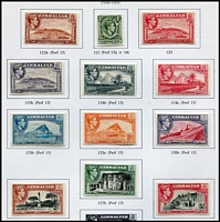 Lot 8 [4 of 11]:British Commonwealth Range in 6 albums incl GB, Malta, Gibraltar, Mauritius, Aust Territories, etc. (100s)