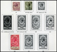 Lot 8 [5 of 11]:British Commonwealth Range in 6 albums incl GB, Malta, Gibraltar, Mauritius, Aust Territories, etc. (100s)