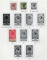 Lot 8 [6 of 11]:British Commonwealth Range in 6 albums incl GB, Malta, Gibraltar, Mauritius, Aust Territories, etc. (100s)