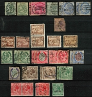 Lot 10 [2 of 16]:British Commonwealth collection in two large stockbooks incl useful India and States, Pakistan & Malta, viewing will reward. (100s)