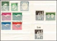 Lot 386 [2 of 9]:Collection in 11 stockbooks with smattering of States & Reich, range of Republic, Berlin, etc, rather sparce in places, a few pickings. (1,000s)