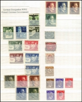 Lot 386 [4 of 9]:Collection in 11 stockbooks with smattering of States & Reich, range of Republic, Berlin, etc, rather sparce in places, a few pickings. (1,000s)