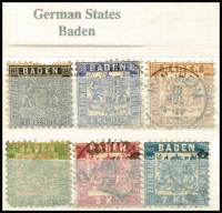 Lot 386 [5 of 9]:Collection in 11 stockbooks with smattering of States & Reich, range of Republic, Berlin, etc, rather sparce in places, a few pickings. (1,000s)
