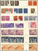 Lot 411 [2 of 11]:Collection comprising Selangor noted 1891 SG 47 mint (toned), 1900 1c on 5c (2 mint), 1941 $2 (2 mint), Trengganu incl 1921-41 8c (2 mint), useful lot. (100s)