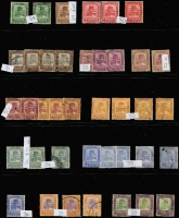 Lot 411 [3 of 11]:Collection comprising Selangor noted 1891 SG 47 mint (toned), 1900 1c on 5c (2 mint), 1941 $2 (2 mint), Trengganu incl 1921-41 8c (2 mint), useful lot. (100s)