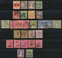 Lot 4 [6 of 9]:British Africa collection in four stockbooks noted South Africa, SWA, Cape of Good Hope, Natal, Transvaal, Mauritius, Nigeria, etc. Many useful pickings. (1,000s)