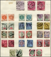 Lot 8 [1 of 11]:British Commonwealth Range in 6 albums incl GB, Malta, Gibraltar, Mauritius, Aust Territories, etc. (100s)