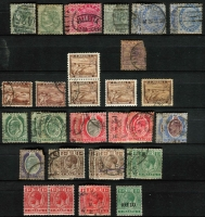 Lot 10 [2 of 6]:British Commonwealth collection in two large stockbooks incl useful India and States, Pakistan & Malta, viewing will reward. (100s)