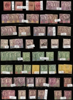 Lot 409 [6 of 9]:Collection comprising Johore noted SG 12 (faults), SG 13 & 15 mint, Kedah useful range incl 1921-32 $3 mint, 1937 $5 mint, 1957 $2 & $5 mint, plus few Sungei Ujong incl SG 41 mint. Condition varies. (few 100)