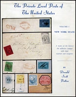 Lot 126:United States of America: The Private Local Posts of the United States by Patton.
