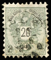 Lot 1327 [1 of 5]:1883-90 Inscription and Figures in Black 2k to 20k (tones) P9, SG #70-74, Cat £2,700. (5)