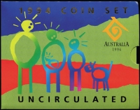 Lot 110 [2 of 3]:Australia: Uncirculated carded Year sets comprising 1984 to 1988, 1991, 1994 & 1998. (8)