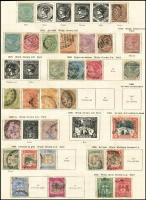 Lot 10:British Commonwealth in New Ideal Album Vol I with 