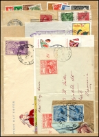 Lot 507:Collectors Duplicates in old stockbock incl GB, NZ 