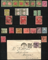 Lot 6:Collector's Remnants in 3 albums incl few Canada 