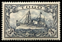 Lot 877 [1 of 2]:1900 Yacht No Wmk set, SG #G7-19, 5mk has some tones otherwise fresh mint, Cat £225. (13)