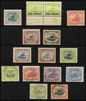 Lot 6851 [2 of 3]:1906-30 Collection incl useful range of Papua Ovpts noted 2/6d mint, 1907-10 2/6d, SG 46 mint, good range of later Bi-colours with values to 1/3d mint, few varieties noted 1911-15 Mono colours 2/6d used, 1917 Penny Opts (2 sets mint), 1930 6d Air Ash imprint strip of 3 mint, perf 'OS' oddments incl 1/- used, opt 'OS' values to 6d mint, some duplication. Nice lot viewing will reward. (few 100)