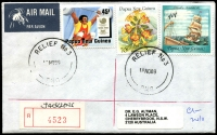 Lot 1460 [6 of 7]:1990s-2000s Commercial mail, many Registered and larger size envelopes. Useful lot. (59)