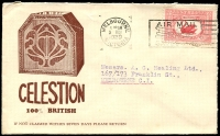Lot 796:AJ Veall 1929 illustrated cover for Celestion Radios fine cover.