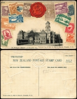 Lot 597 [5 of 6]:1900s-50s with strength in Australia noted 1928 Exhibition cover, 1932 Registered 5th Australian Philatelic cover 1937 Eastern Golf Club Field PO card, 1950 Postal Advice card, also Cocos 1955 cover to NSW, etc. Condition varies, viewing recommended. (60+)