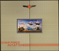 Lot 455:2011 Air Force Aviation Presentation album with five M/Ss all numbered and limited to 150 as issued by Aust Post.