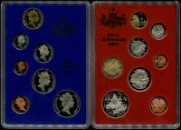 Lot 1020:Australia: 1987 & 1988 Proof sets as issued.