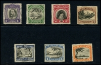 Lot 1399 [3 of 5]:1919-46 Small collection on Hagners incl 1919 Rarotonga Ovpts on KGV to 1/-, 1920 set, 1924-27 set, 1926-28 Admirals set, 1932 set, 1936 2/- and 3/- Admirals, 1944-46 set, etc. (59)