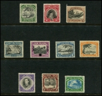 Lot 1399 [4 of 5]:1919-46 Small collection on Hagners incl 1919 Rarotonga Ovpts on KGV to 1/-, 1920 set, 1924-27 set, 1926-28 Admirals set, 1932 set, 1936 2/- and 3/- Admirals, 1944-46 set, etc. (59)