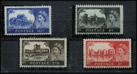 Lot 896 [6 of 6]:British Commonwealth range incl with useful Dominica, GB few QE varieties, Mauritius, Natal, New Zealand 1936-42 2/- CAPTAIN COQK used, Southern Rhodesia, etc. Viewing will reward. (100s)