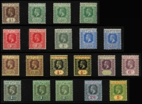 Lot 932 [1 of 8]:British Commonwealth KGV collection in album incl Fiji 1912-23 values to 5/-, 1922-27 set, Gibraltar 1925 2/-, 5/- & 10/-, Gold Coast 1913-21 set to 5/-, 1916-20 Togo Ovpt set to 10/-, 1928 set, Grenada 1921-31 2/6d to 10/-, 1934-36 set, Jamaica 1921-29 set, KUT 1935-37 to 10/-, Malaya useful range, Mauritius 1913-22 set, Montserrat 1922-29 set, 1932 Anniversary to 2/6d, Nigeria 1936 set, Northern Rhodesia 1925-29 set to 5/-, etc. A valuable lot. (100s)