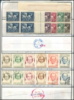 Lot 900 [5 of 6]:Circuit Sheets with range incl Netherlands, Italy, GB, Switzerland, Sweden, etc. A bit sparse. (1,000s)