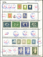 Lot 901 [1 of 5]:Circuit Sheets incl Sweden, Finland, Norway, Iceland, etc. (1,000s)